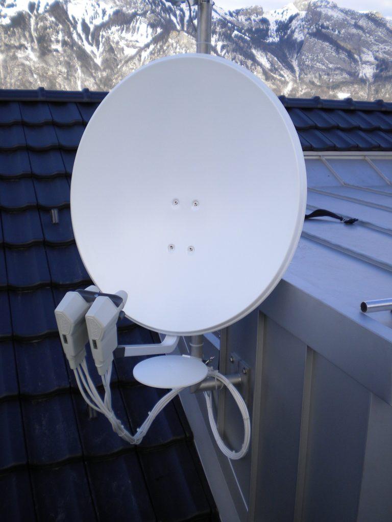 Schwachstrom TV Kommunikation SAT Satellit